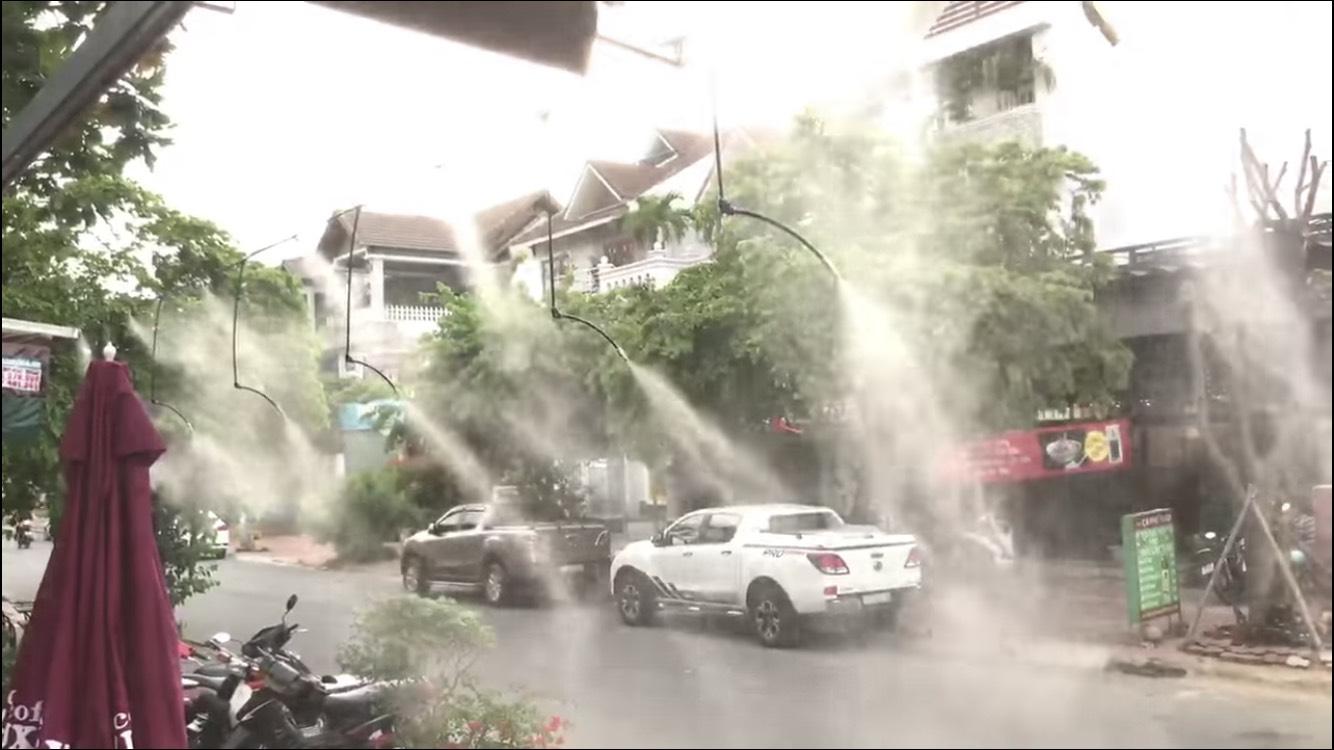 Lắp máy phun sương quán cafe uy tín tại TP Sài Gòn